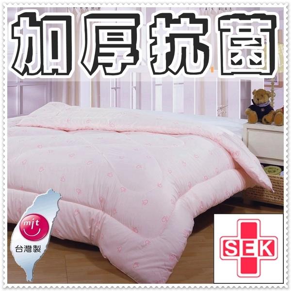 單人棉被胎 防螨抗菌單人被胎4.5x6.5尺 單人冬被 附精裝收納提袋 台灣製造【老婆當家】