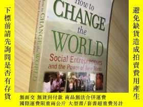 二手書博民逛書店How罕見to Change the World:Social