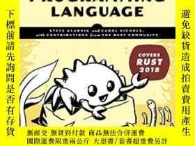 二手書博民逛書店The罕見Rust Programming Language (covers Rust 2018)Y25556