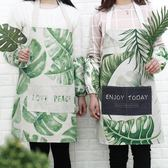 圍裙 韓版時尚可愛家用廚房做飯防水防油男女工作棉麻圍裙 玩趣3C