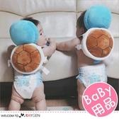 傑尼龜 烏龜造型寶寶學步防摔枕 護頭枕