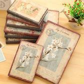 創意復古布面學生記事本 加厚迷你隨身精裝筆記本小日記本子 東京衣櫃