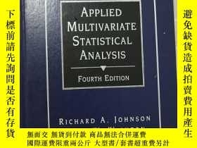二手書博民逛書店罕見!!!【英文原版】APPLIED MULTIVARIATE STATISTICAL ANALYSIS FOUR