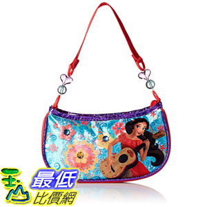 [7美國直購] 迪士尼 手提包 Disney Girls Elena Beaded Handbag, Red
