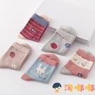 5雙 兒童襪子女童襪子秋季純棉襪中筒襪【淘嘟嘟】