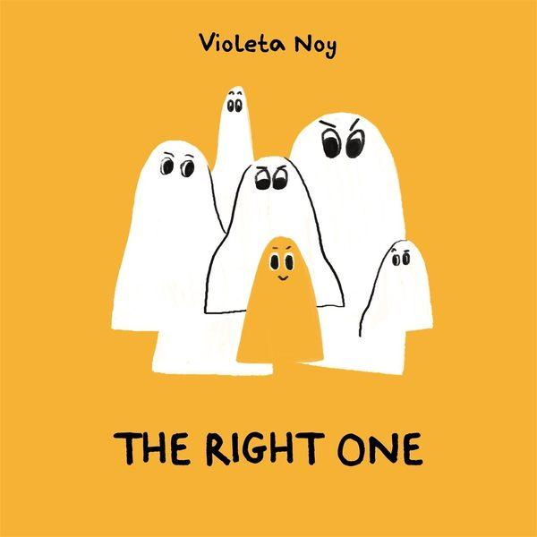 【麥克書店】THE RIGHT ONE / 平裝繪本《主題: 萬聖節》