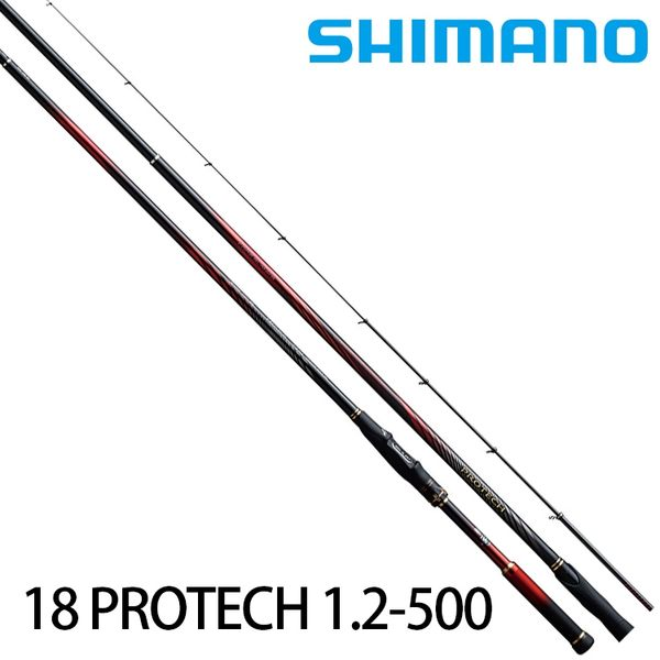 漁拓釣具 SHIMANO 18 PROTECH 1.2號 500 (磯釣竿)