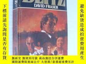 二手書博民逛書店Blitz罕見三面刷黃Y146810 David Fraser