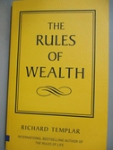 【書寶二手書T5/投資_ZDJ】The rules of wealth : a personal code for pr