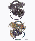薇嘉雅  骷簍 紋身貼紙 HM233