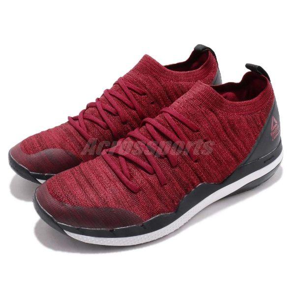 Reebok 訓練鞋 Ultra Circuit TR ULTK LM 紅 黑 健身專用 編織鞋面 襪套式 男鞋【PUMP306】 CN6342