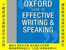 二手書博民逛書店Oxford罕見Guide To Effective Writing And SpeakingY364682