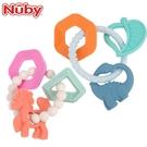 Nuby 矽膠手環固齒器(恐龍 / 獨角獸)