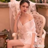 性感蕾絲情趣內衣服透視裝女用激情套裝睡裙開檔三點制服小胸睡衣 koko時裝店