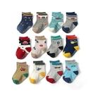 寶寶襪子12雙入 多花色卡通童襪組 88719