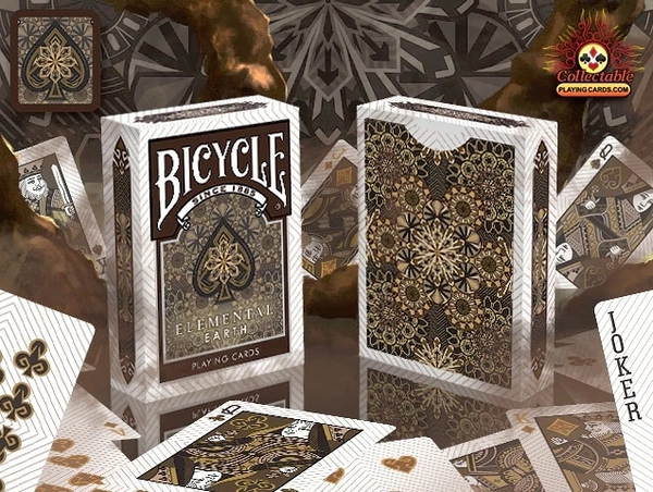 【USPCC撲克】BICYCLE EARTH Playing Cards