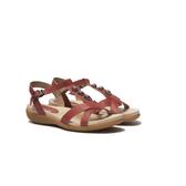 ORWARE-春夏原色涼拖鞋651025-09紅