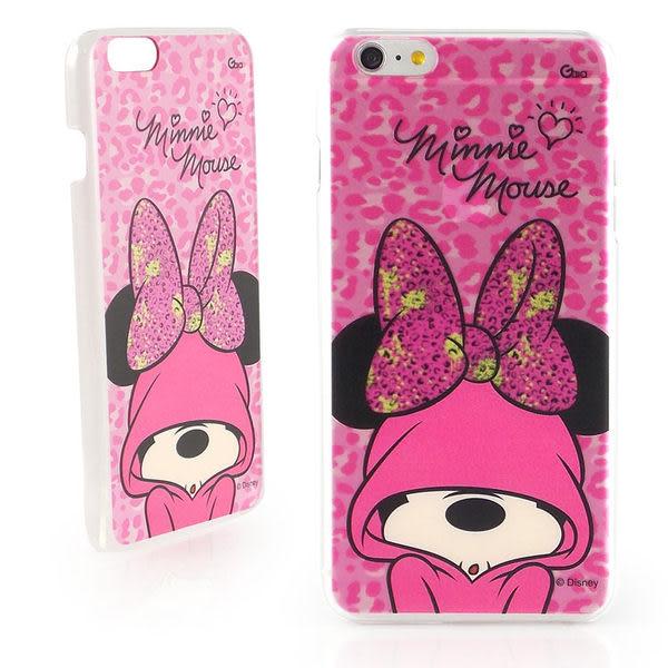 【Disney 】iPhone 6 Plus/6s Plus 彩繪豹紋系列透明保護硬殼