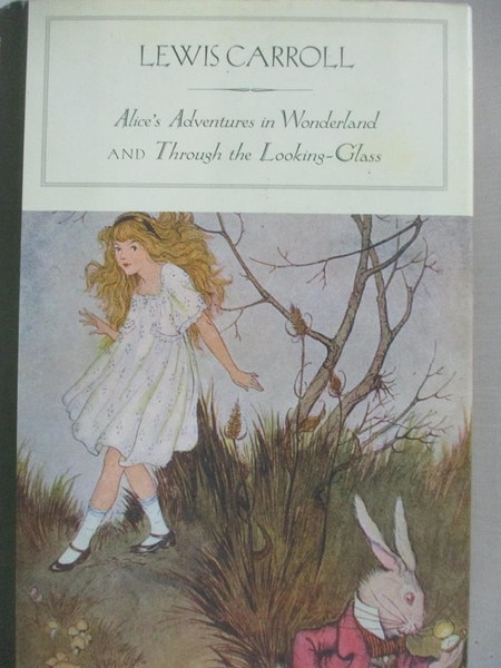 【書寶二手書T1/少年童書_BY2】Alices Adventures in Wonderland, and Through…