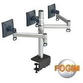 [富廉網] FOGIM TKLA-6033-S 夾桌懸臂式液晶螢幕支架(三螢幕)(和順電通)
