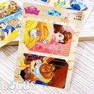 迪士尼悠遊貼票卡貼 美女與野獸 貝兒公主 玫瑰花 茶壺媽媽與阿齊 悠遊卡貼票卡貼紙 COCOS DS025