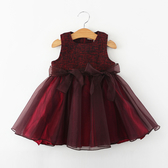 時尚可愛寶寶紗裙洋裝67 蓬蓬裙 禮服 聖誕節 過年服裝