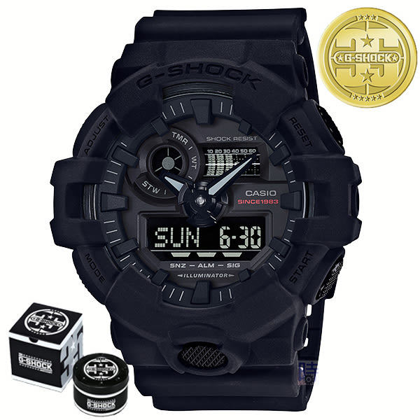 【35周年】G-SHOCK CASIO GA-735A-1A (GA-735A-1ADR)卡西歐 限量 雙顯錶
