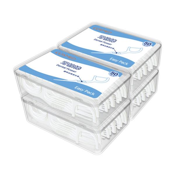 COSMED牙線棒50支*4盒【康是美】