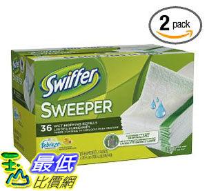 [美國直購 ShopUSA] Swiffer 掃地濕布 Sweeper Wet Cloth Citrus & Light (2 pack )