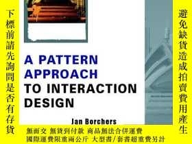 二手書博民逛書店A罕見Pattern Approach To Interaction DesignY256260 Jan Bo