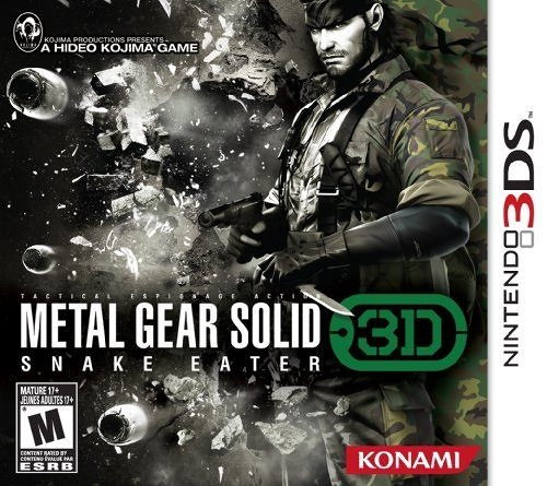 3DS Metal Gear Solid Snake Eater 3DS 潛龍諜影:食蛇者 3D(美版代購)