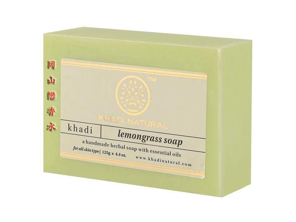 岡山戀香水~印度 Khadi 草本檸檬草 /香茅手工精油香皂125g~優惠價:75元