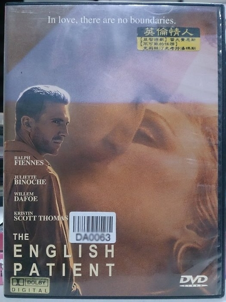 挖寶二手片-T02-414-正版DVD-電影【英倫情人】-雷夫范恩斯 茱麗葉畢諾許 威廉達佛 克莉斯汀(直購