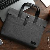 筆電包 蘋果筆記本聯想小米電腦包15.6 14寸13.3手提包 時尚韓版手提包【中秋節禮物八折搶購】