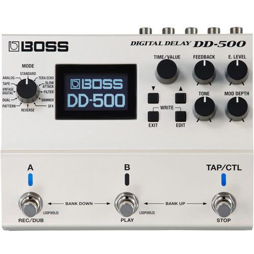 【敦煌樂器】BOSS DD-500 數位 Delay 效果器