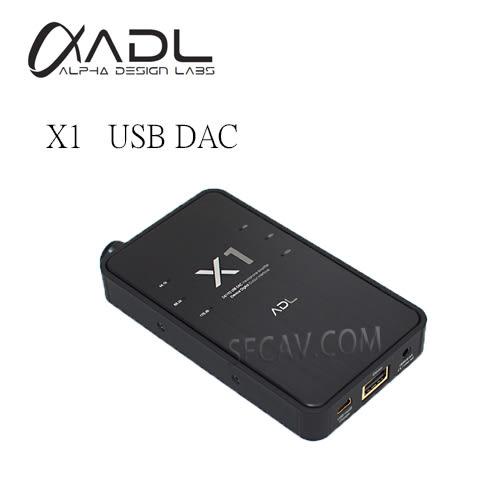【竹北勝豐群音響】FURUTECH ADL X1 USB DAC/耳機擴大機