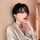 耳環耳釘2020新款潮高級感耳墜韓國氣質女網紅耳飾爆款通勤耳環純銀針 新年禮物