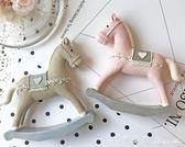 小馬可愛樹脂擺件設客廳居家裝飾品北歐風格創意工藝品桌面禮物品 瑪麗蓮安