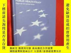 二手書博民逛書店European罕見Union Public Health Po