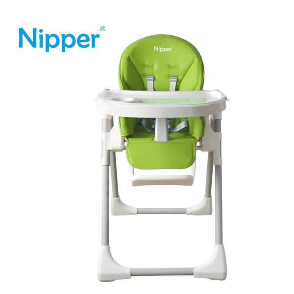 【Nipper】多功能可調式高腳餐椅-蘋果綠