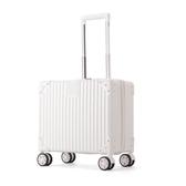 小清新商務登機箱16寸拉桿箱萬向輪小型旅行箱男行李箱女密碼箱包