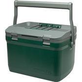 【速捷戶外露營】美國STANELY #10-01623 Coolers 冰桶 15.1L(綠色)