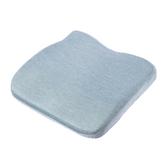抗菌冷凝記憶舒壓坐墊-藍綠