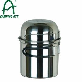 【CAMPING ACE 野樂 攜帶式個人炊具】ARC-301/登山/露營/單人/不鏽鋼壺鍋/鍋具★滿額送