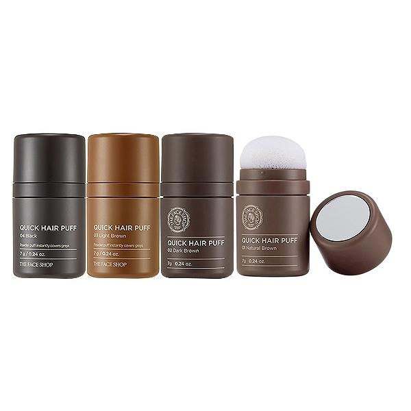 韓國THE FACE SHOP 自然遮色氣墊髮粉(7g) 款式可選【小三美日】