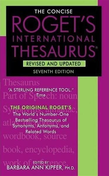 (二手書)The Concise Roget's International Thesaurus, 7/e