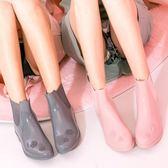 低幫雨鞋女防滑短筒韓國時尚平底可愛雨靴女士水鞋