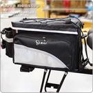 【樂樂購˙鐵馬星空】自行車大容量鬆緊帶後架包(可放安全帽) 旅行環島後貨包*(P23-512)