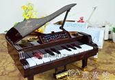 禮物可彈奏創意鋼琴音樂盒送女生閨蜜老師同學兒童生日禮物八音盒禮品  歡樂聖誕節