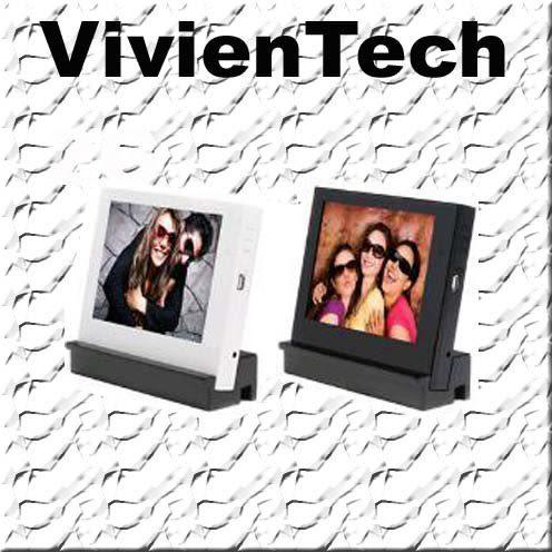 《 3C批發王 》 Vivientech 8吋數位相框 4:3比例 影片播放 mp3 支援插卡擴充 手工原木底座 專業設計